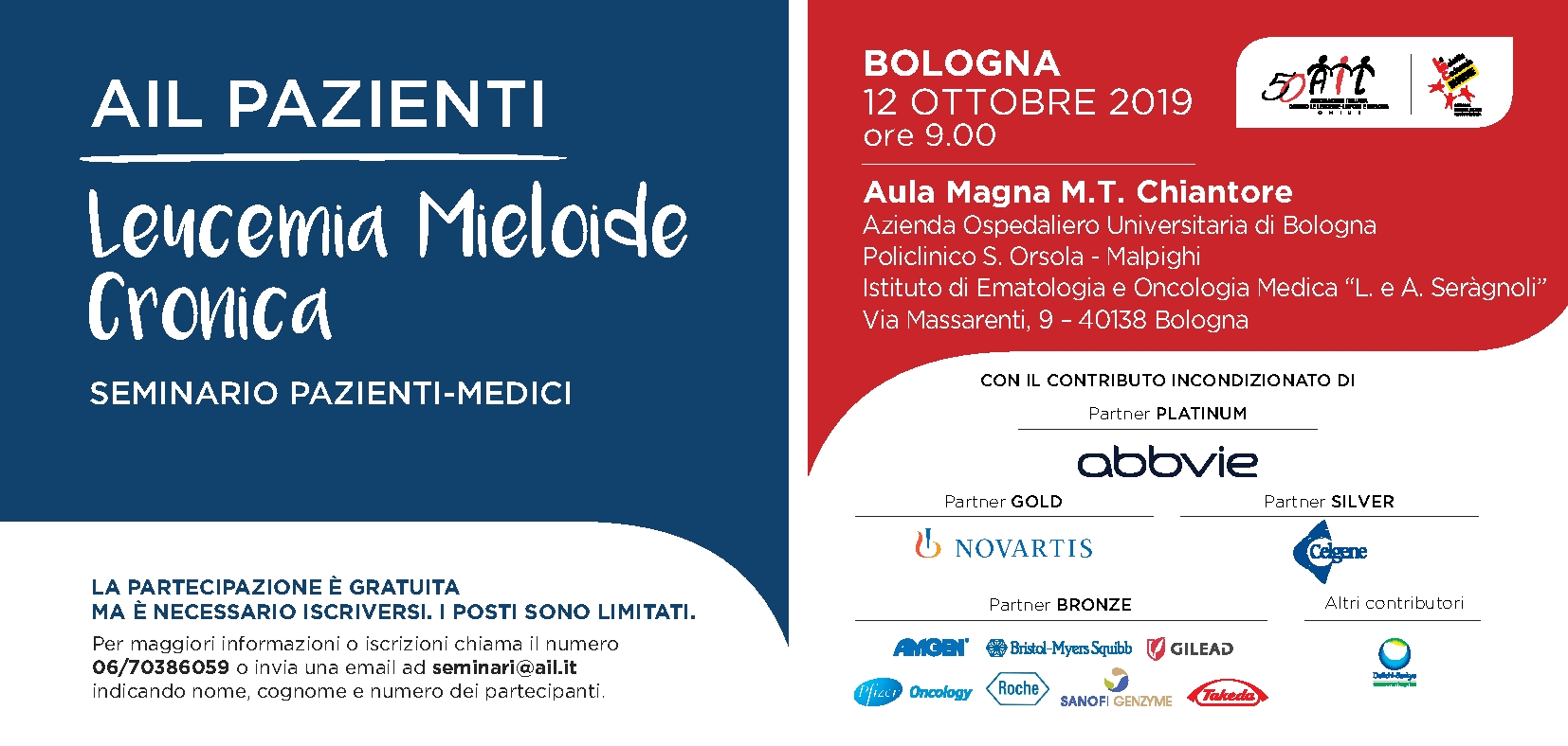 SaveTheDate Bologna